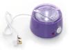صورة بيوتي ستار جهاز تسخين وإذابة الشمع بلاستيك لون أرجواني