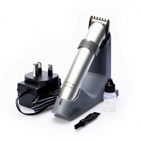 صورة ماكينة حلاقة شعر للرجال RF-608 اللون\فضي من دنجلينج